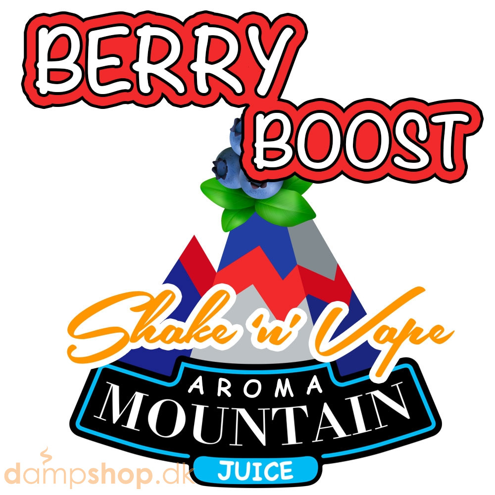 Boost Berry Shake n Vape Kit